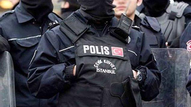 Kuryeye şiddet uygulayan polis açığa alındı.