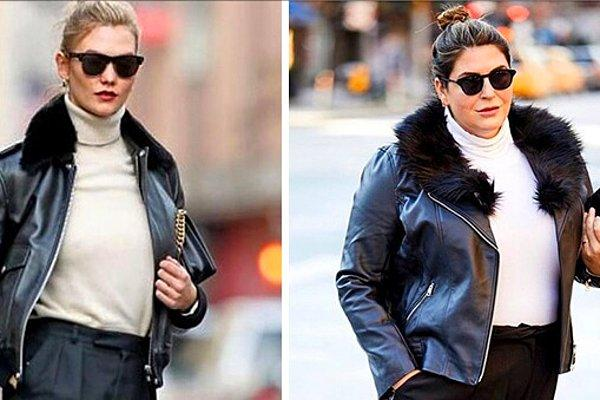 Женщина одевается как знаменитости, доказывая, что не нужно быть худой, чтобы хорошо выглядеть