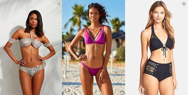 3. Bikini alman gerekiyor ama fazla para harcamak istemiyorsan senin için uygun fiyatlı birkaç modeli getirdim: