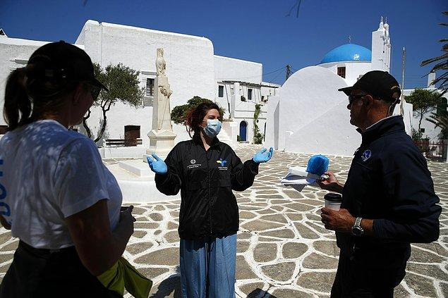 Yunanistan, vaka ve ölüm sayılarını göreceli olarak düşük tutmayı başardı.