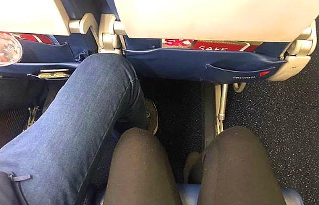 8. Bacaklarınızı ayırmayın.