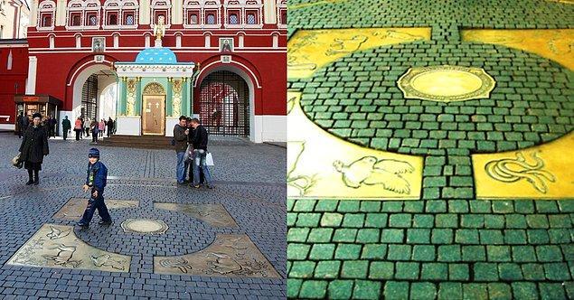 5. Kızıl Meydan - Moskova