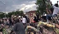 Видео с акции протеста в Детройте, которая больше похожа на вечеринку