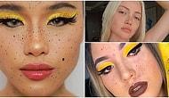 Банановый макияж с веснушками - новый яркий тренд Instagram