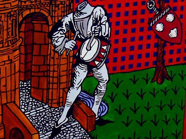 14. Başı olmayan davulcu çocuk Edinburg'da  efsanevi bir kahramandır. Devlet yetişkin bir kişinin sığamayacağı büyüklükte bir tünel bulur ve davulcu bir çocuğu bu tünele gönderirler ama çocuk asla geri gelmez. Daha sonra tünelden geçen insanlar halen burada davul sesleri duyduklarını söylemişlerdir.