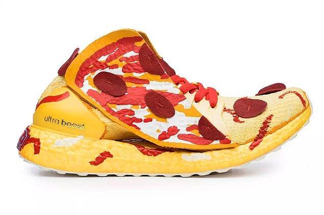10. O değil de yok yere pizzadan soğudum...