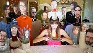 Девушка отпраздновала свой день рождения с бумажными версиями своих друзей, и вот 15 фотографий с этой вечеринки