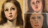 Реставраторы из Испании исказили картину Девы Марии XVII века, сделав ее лицо неузнаваемым