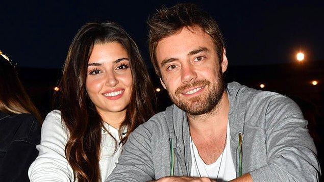 12. Hande Erçel ve Murat Dalkılıç ilişkisi sevenleri tarafından evlilik haberi beklerken bitmişti. Ancak bir süre sonra yeniden bir araya geldiler ve bu kez evlilik kararı aldılar.
