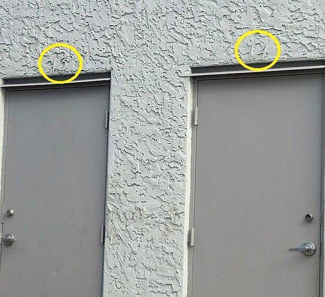 5. Neden bina numaralarını bina rengiyle aynı renk yaparsınız ki?