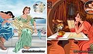 Художник из Севильи учит нас искусству картин с помощью героев Диснея