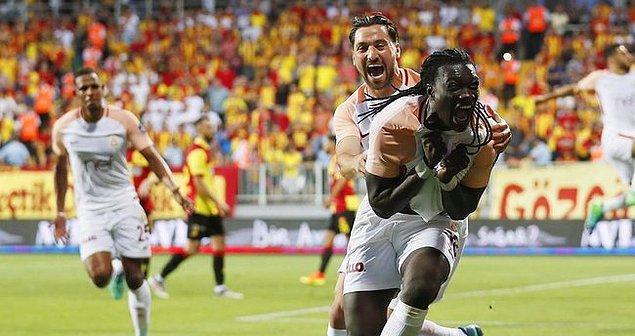 9. 2017 - 2018 Sezonu / Göztepe 0-1 Galatasaray