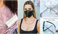 Moda Yeni Ürünlerde Sınır Tanımıyor: Pandemi Döneminin En Son Trendi Maske Zincirleri