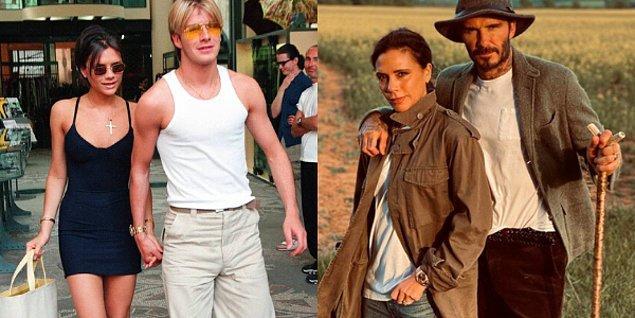 David-Victoria Beckham çifti de 1999 yılından beri evli kalmayı başaran çiftlerden.