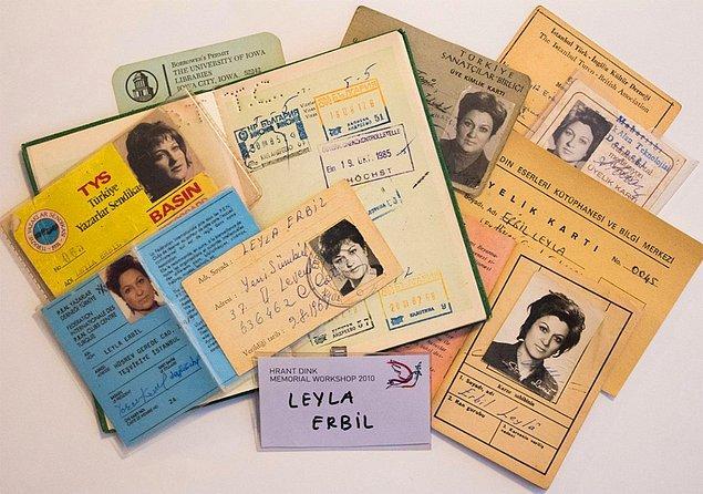 2016 yılında Leyla Erbil'in kişisel arşivi, kızı Fatoş Erbil tarafından Boğaziçi Üniversitesi'ne bağışlandı. 'Leyla Erbil'in Edebi Dünyası' isimli proje kapsamında kataloglanarak dijital ortama aktarıldı.