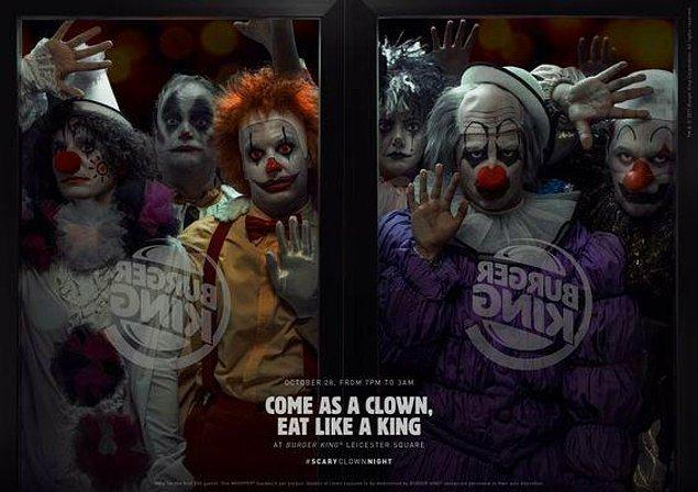 24. Burger King (cadılar bayramı reklamı)