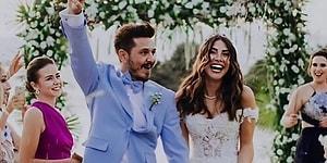 Как выглядели турецкие звезды на своих свадьбах?