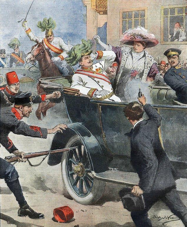 7. Suikaste kurban gitmeden önce Arşidük Ferdinand, Avusturya'yı federalleştirmeyi planlıyordu.