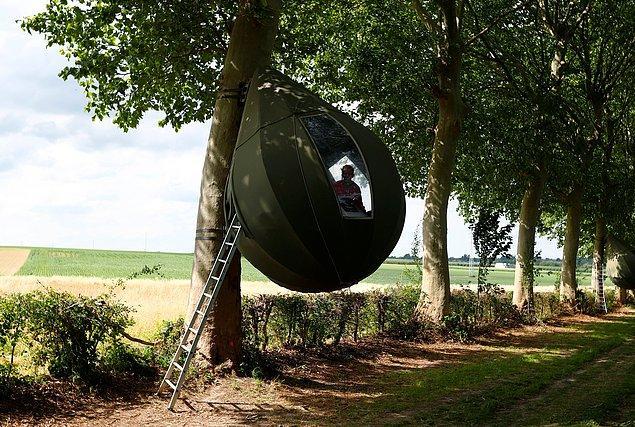 Bu çadırlar ilk olarak fonksiyonel amacından çok bir sanat eseri olarak tasarlanmıştı.