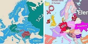 Занимательная статистика в виде географических карт: вот бы в школе так учили!