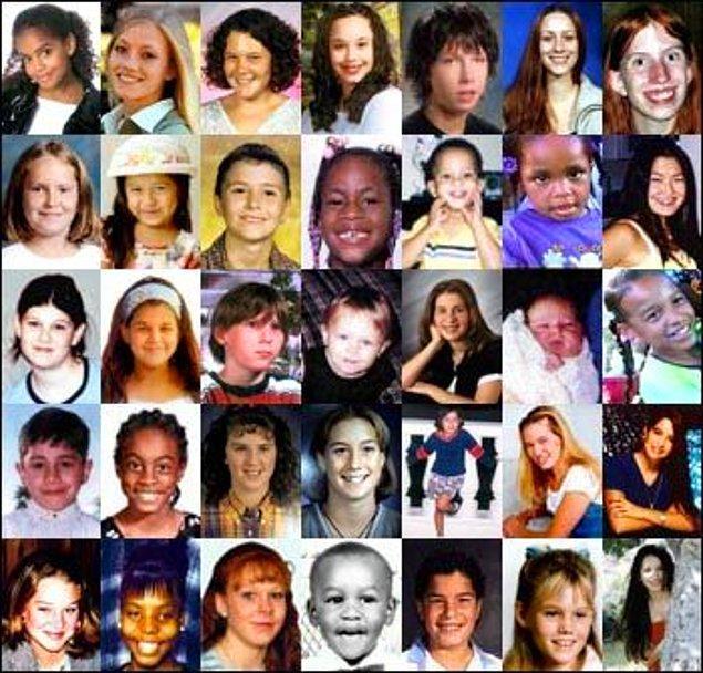 Orta Doğu, Asya, Avrupa ve Amerika'da kaybolan çocukların çoğunun Adrenochrome için hapsedildiği düşünülüyor.