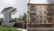 Люди показывают разницу между двумя уровнями жизни, сравнивая самые дорогие и дешевые дома в своей стране