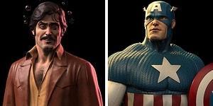 Художник создает фигурки в стиле 70-х, вдохновленные супергероями Marvel (30 фото)