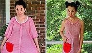 Женщина превращает одежду, которую она купила в секонд-хенд за 1 доллар, в элегантные наряды (30 фотографий)