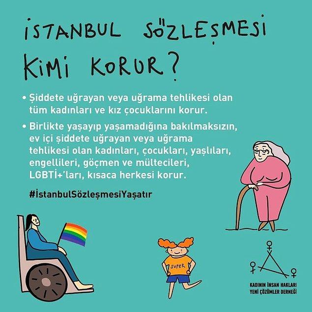 Bu günlerde de başka derdimiz yokmuş gibi İstanbul Sözleşmesi'ni tartışıyoruz biliyorsunuz...