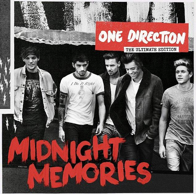 "14. 2013 - One Direction ""Midnight Memories"""