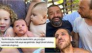 Ali Atay, Bülent Şakrak ve Erkan Kolçak Köstendil'in Oğullarıyla Aynı Pozu Vererek Paylaştıkları Fotoğraf Kalpleri Eritti