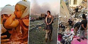 25 кадров, раскрывающих серьезные масштабы взрыва в Бейруте