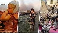 Lübnan'ın Beyrut Şehrinde Yaşanan Patlamanın Ne Kadar Ciddi Boyutlarda Olduğunu Gözler Önüne Seren 25 Kare