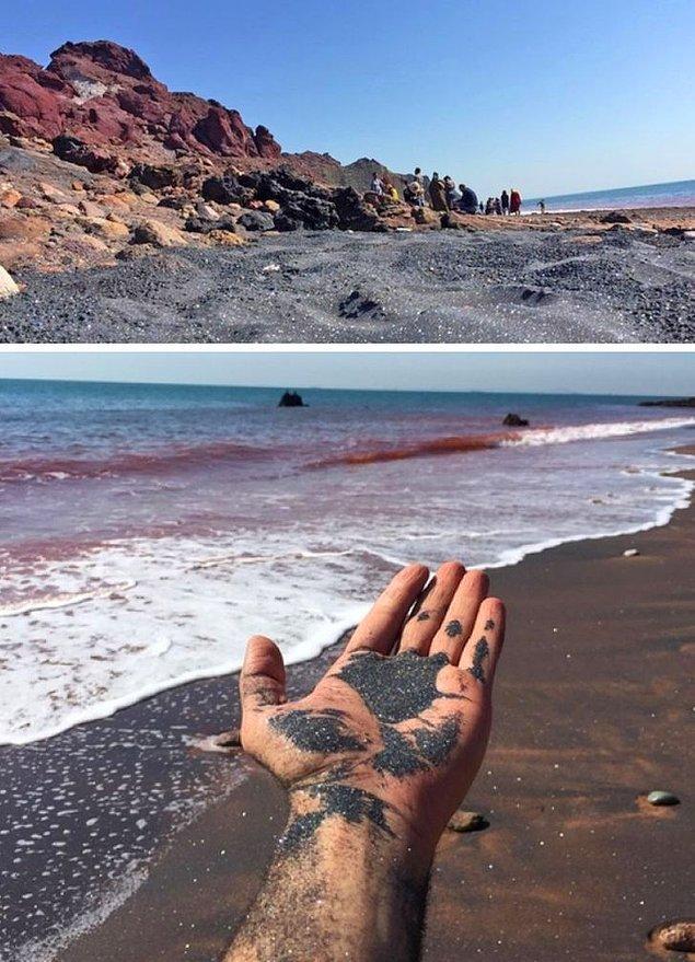 1. Bu kum sim gibi görünüyor!