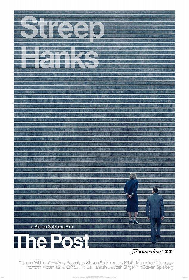 5. The Post (2017), IMDb: 7,2