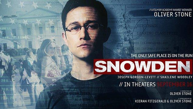18. Snowden (2016), IMDb: 7,3