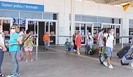 529 российских туристов прибыли в Анталью (видео)