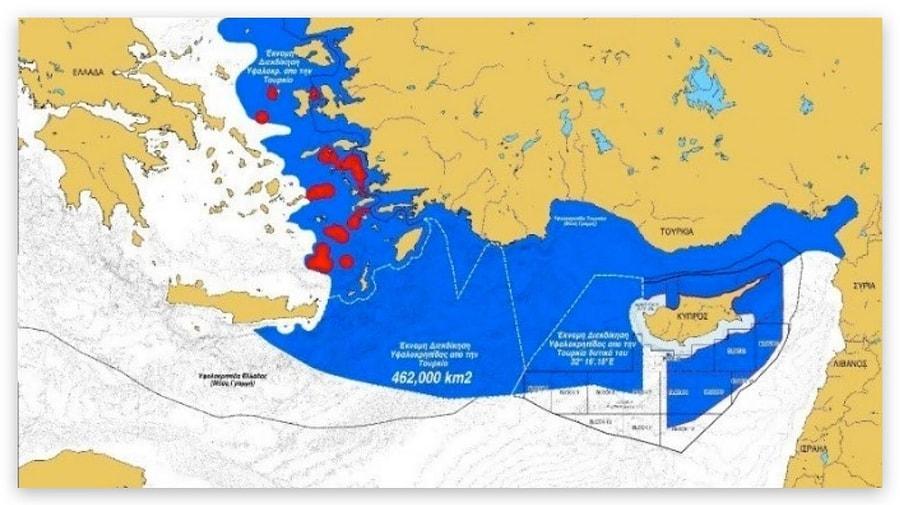 Mavi Vatan Doktrini Nedir? Türkiye ve Yunanistan Arasındaki Anlaşmazlık Ne? - onedio.com