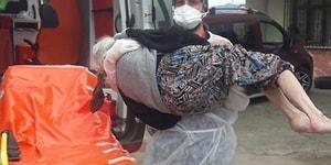 Медицинский работник донес пожилую женщину с COVID-19 до дома, так как ее родственники не решились ей помочь