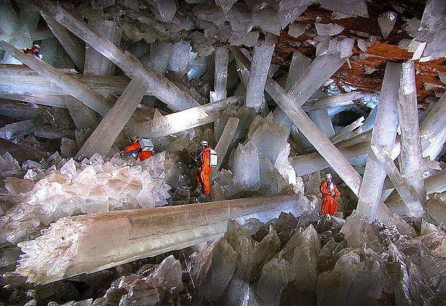 8. Kristallerin Mağarası, Meksike