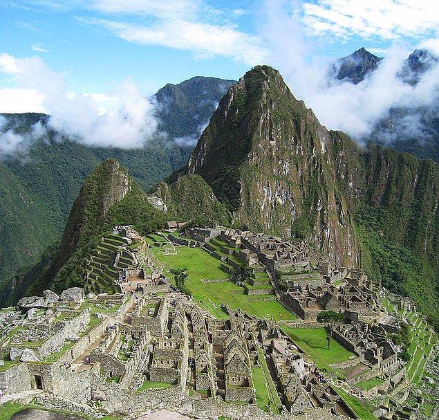 Bin yıl geriye ve Peru'ya gitmişken İnka Medeniyeti'ni anmamak olmaz...
