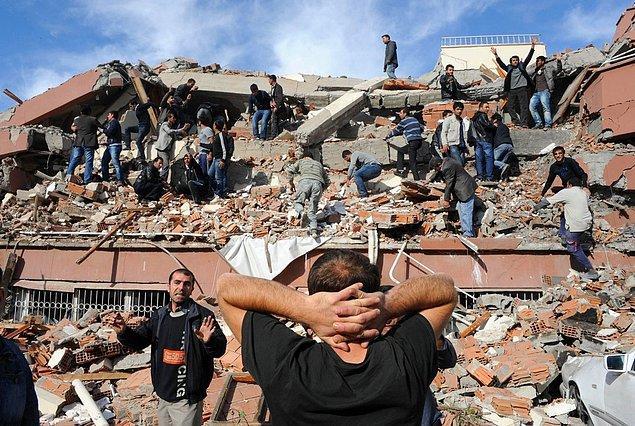 Depremden sonra neler yaşandı?