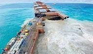 В Индийском океане раскололся японский танкер, перевозивший 4000 тонн нефти