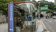 Умные автобусные остановки в Южной Корее измеряют температуру пассажиров прежде, чем взять их на борт автобуса
