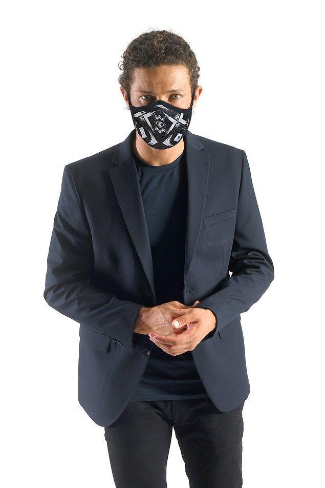 2. Erkekler için de muhteşem maskeler var!