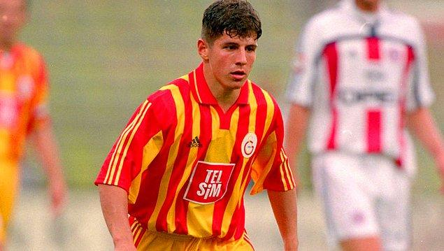 A Takım'da ilk resmi maçına 1996-1997 sezonunda 17 yaşında çıkan Emre, sarı-kırmızılı formayı 5 sezon giydi ve burada tarihi başarılara imza attı.