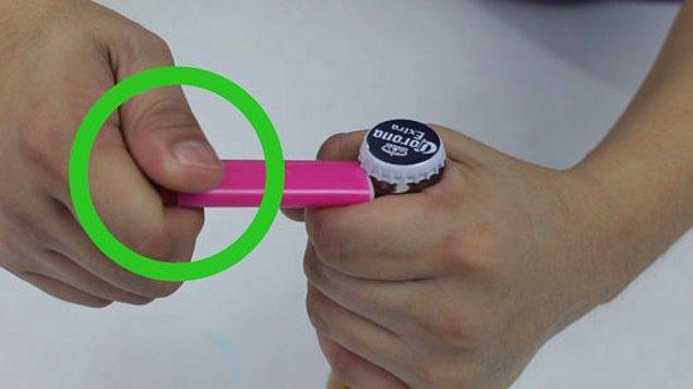 5. Ortamlarda beş dakikada kaybolma potansiyeline sahip çakmak, sigaranızı yakmakla kurtulamaz.