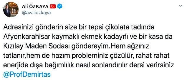 AK Parti Afyonkarahisar Milletvekili de tartışmalara dahil oldu.