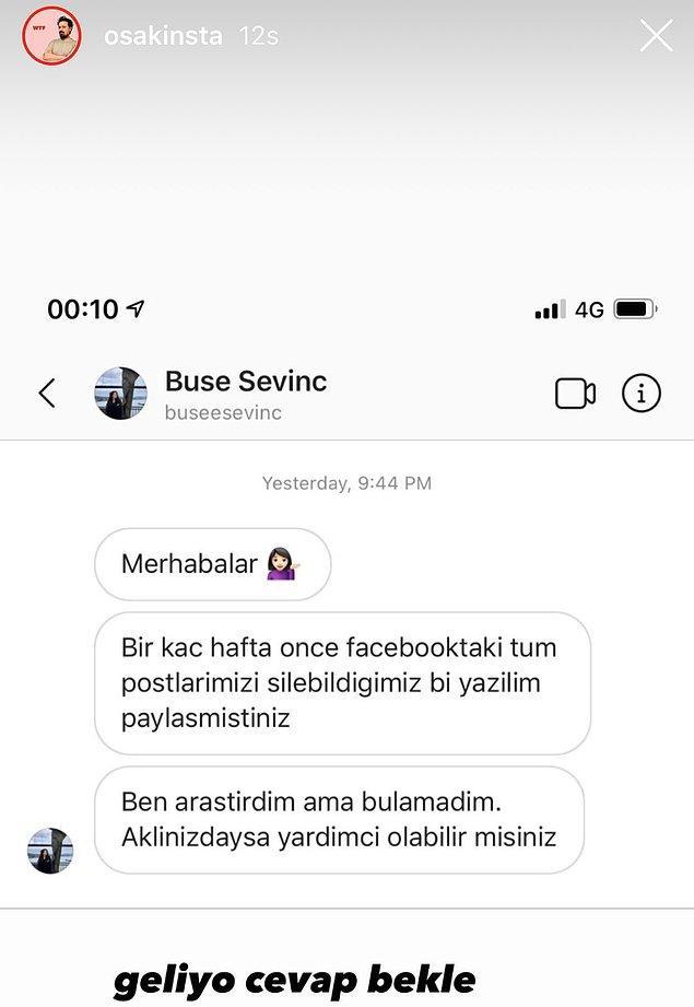 Ama gelgelelim Ozan Sakin, sosyal medya üzerinden kendisine kibarca bir soru yönelten genç kadını küçük düşürmeye çalışması ve terslemesiyle gündemde.
