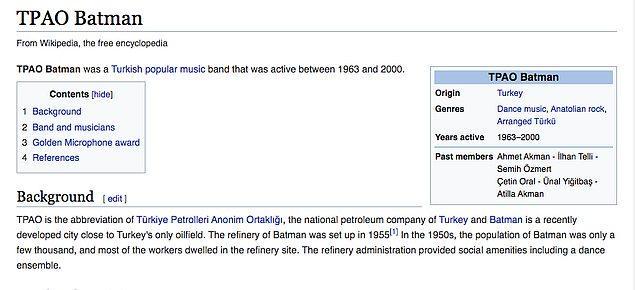 Ülkemizde değeri yeteri kadar anlaşılmamış olacak ki orkestraya ait tek Wikipedia sayfası da İngilizce.
